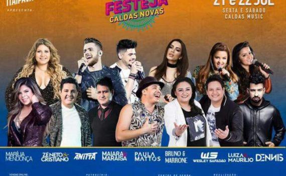 Festeja Caldas Novas 2017